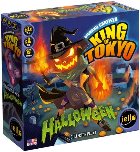 king of tokyo halloween caja del juego de mesa