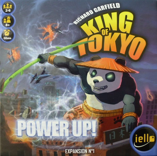 king of tokyo power up portada