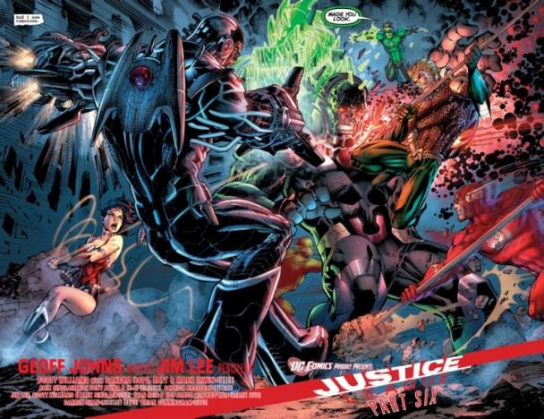 Liga de la Justicia #2 - La Batalla de Metrópolis