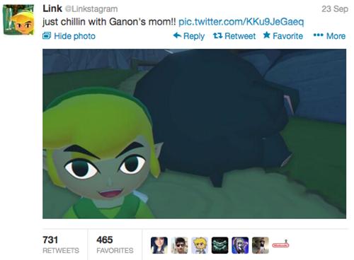 link-selfshot-trolleando-en-twitter-mama-de-ganon