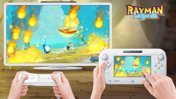 Rayman Legends para Wii U, Game pad imprescindible