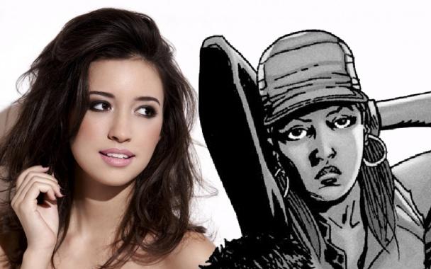 rosita espinosa the walking dead serie tv comic cuarta temporada sera