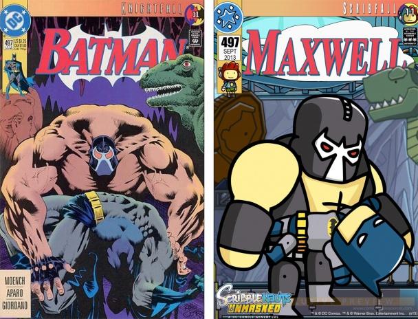 scribblenauts cover batman