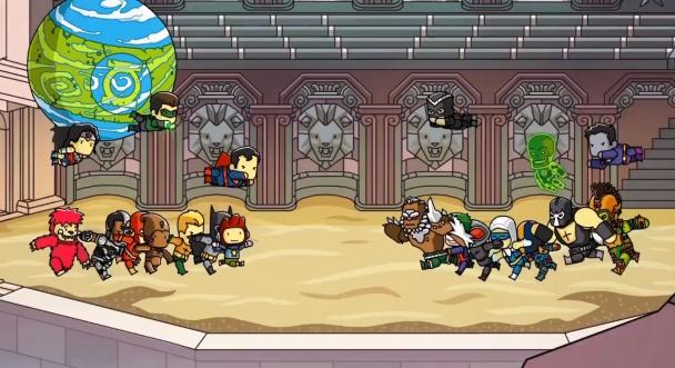 scribblenauts batalla