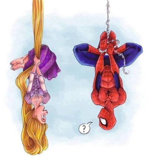 spiderman-disney-enredados