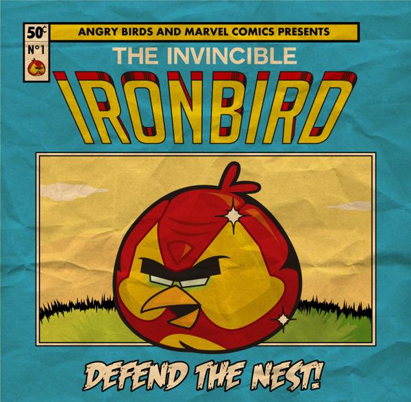 ANGRY BIRDS - IRON BIRD