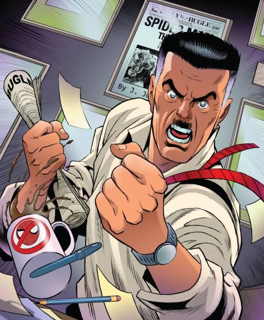 El cascarrabias Jameson es el dueño del Daily Bugle,