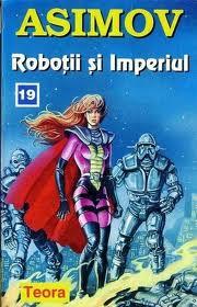 """Curiosa visión de Gladia Delmarre en una edición de """"Robots e Imperio"""""""