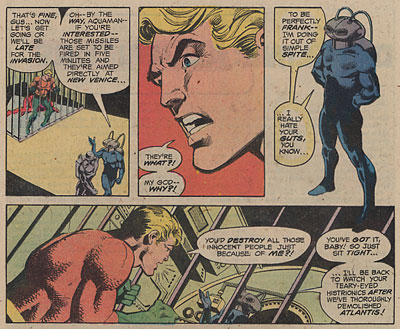 Fragmento de Aquaman -  Adventure comics