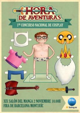 Concurso cosplay hora aventuras salon manga 2013