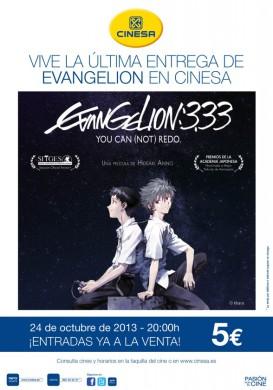 Evento EVANGELION 3 33