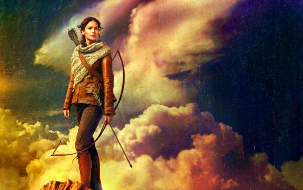 Imagen Katniss En Llamas