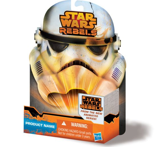 Imagen packaging Star Wars Rebels Hasbro