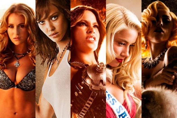 Alexa Vega, Jessica Alba, Sofía Vergara, Amber Heard y Lady Gaga