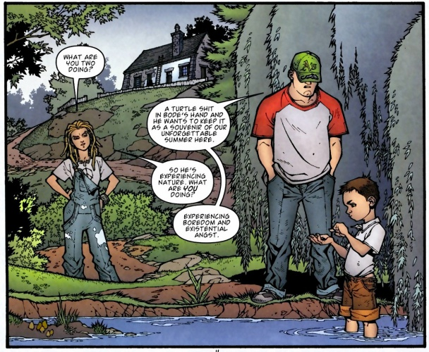 Los hermanos Locke de Locke and Key