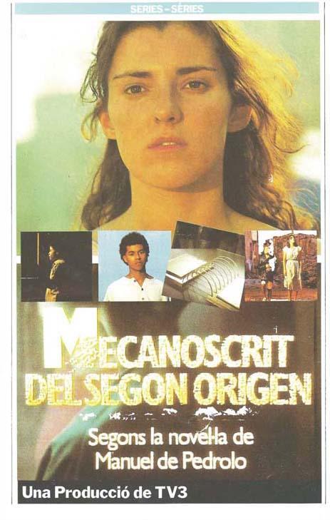 """Póster de la serie de TV de 1985 """"Mecanoscrit del Segòn Origen"""""""