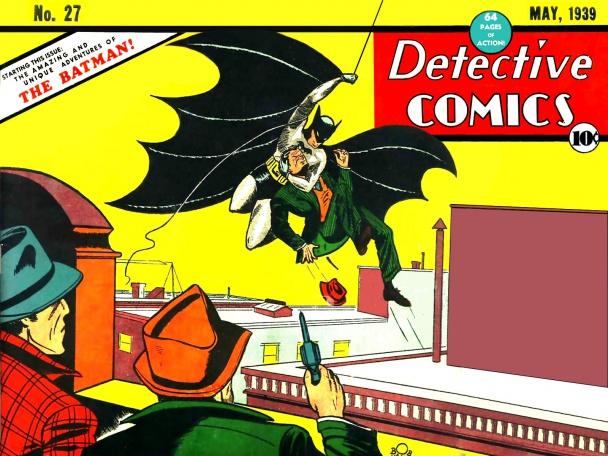 Portada DC 27 Batman