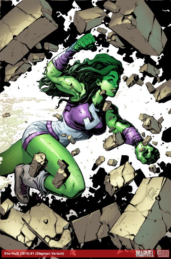 Portada alternativa de She-Hulk #1