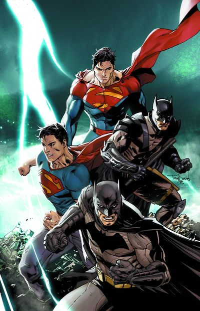Portada de Batman - Superman #4