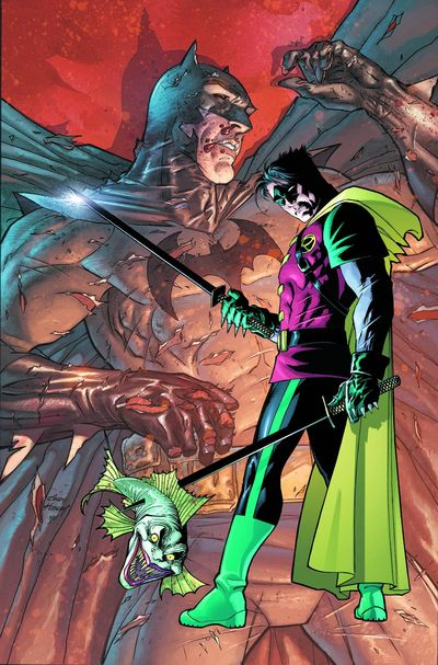 Portada de Damian Son of Bruce Wayne