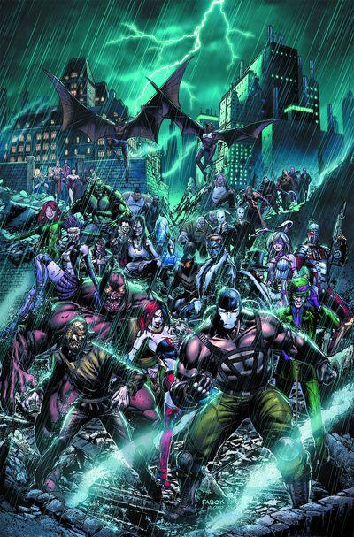 Portada de Forever Evil Arkham War #1