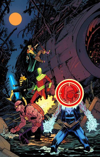 Portada de Forever Evil - Rogues #1