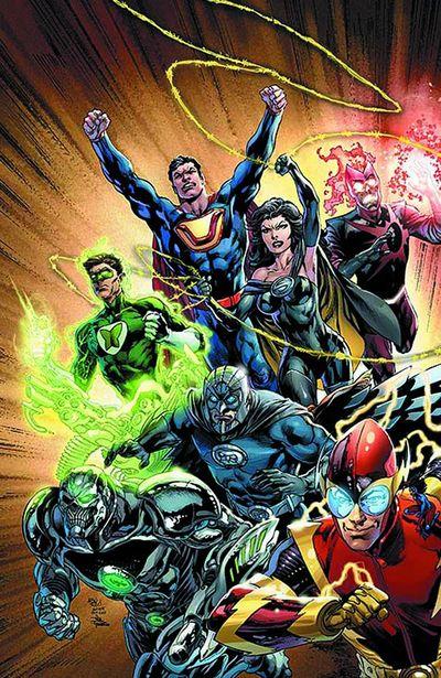 Portada de Justice League #24