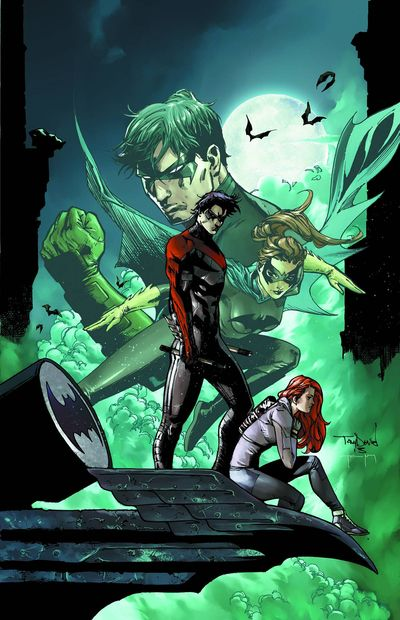 Portada de Nightwing Annual #1