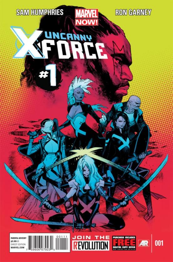 Portada de Uncanny X-Force v2
