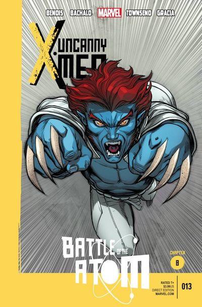 Portada de Uncanny X-Men #13