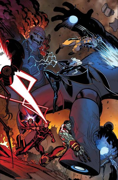 Portada de X-Men Battle of the Atom #2