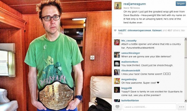El regalo de James Gunn
