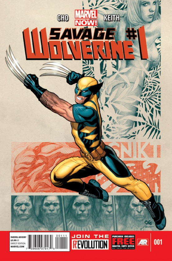 Savage Wolverine V.1