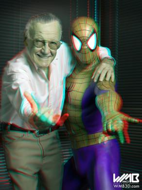 Stan Lee en 3D