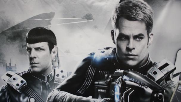 Spock y Kirk de Star Trek