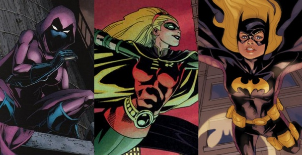 Stephanie Brown como Spoiler, Robin y Batgirl