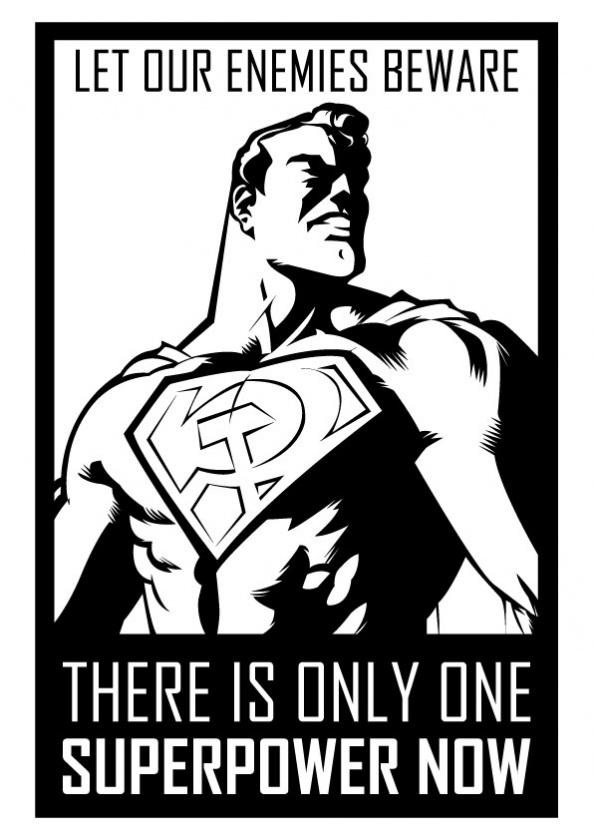 Superman Hijo Rojo Cartel promocional