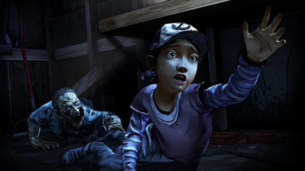 Clementine en peligro en The Walking Dead Season Two