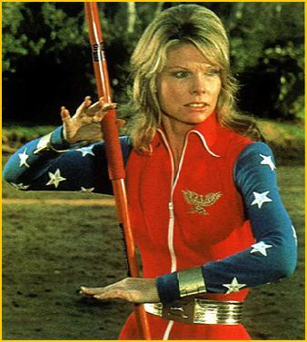 Cathy Lee Crosby como Wonder Woman
