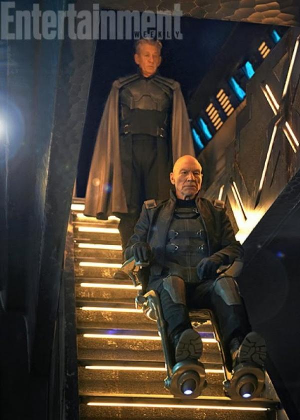 Magneto y Xavier