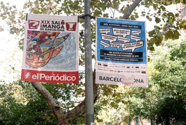 XIX Saló del Manga_banderolas_Juan Miguel Morales (4)