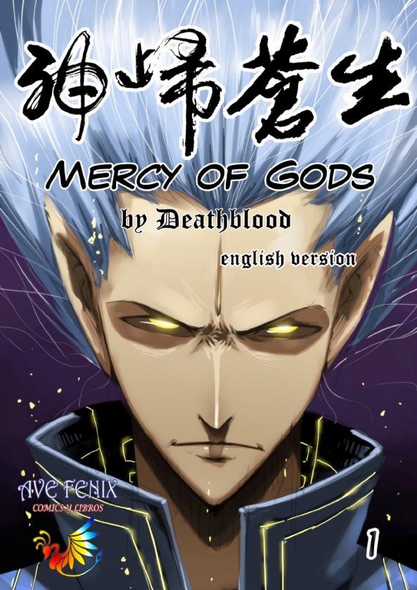 """Portada de """"Mercy of Gods"""""""