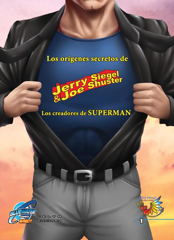 """Portada de """"Los creadores de Superman"""""""