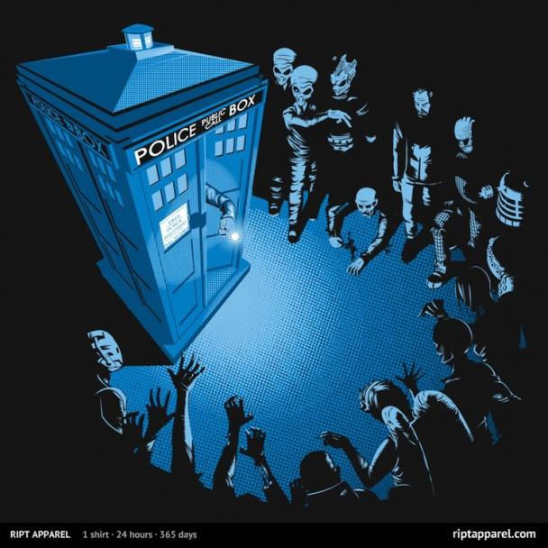 DOCTOR WHO - BAD LANDING