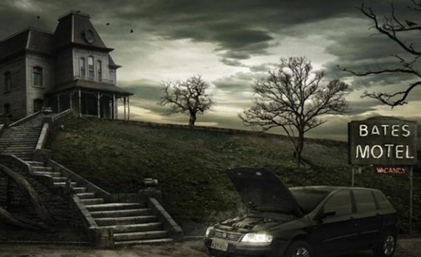 El motel, la siniestra casa en la colina