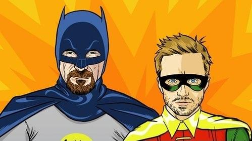 batman y robin breaking bad humor