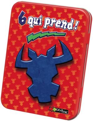 La caja metálica de la versión francesa.