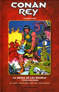 Conan Rey de Planeta DeAgostini Cómics