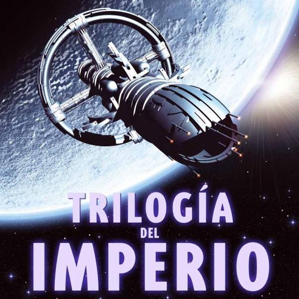 Imagen de una portada de la llamada Trilogía del Imperio
