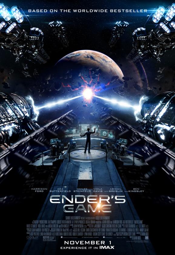 póster IMAX El Juego de Ender